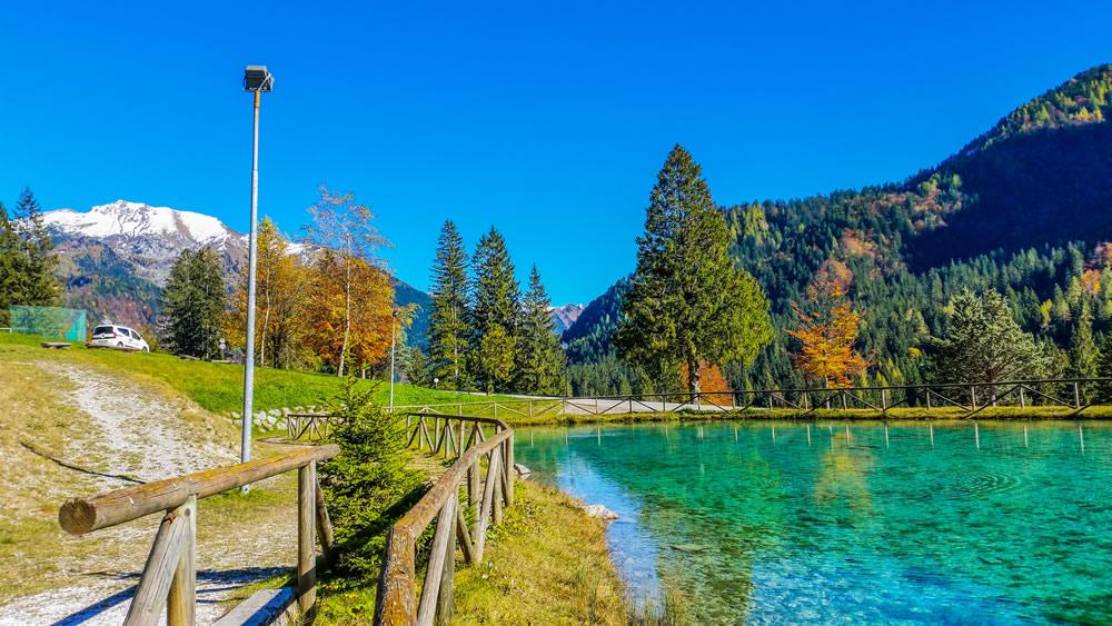 Il panorama dal villaggi Bella Italia