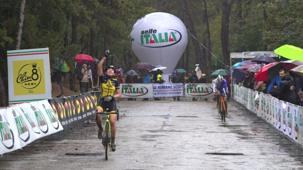 Superlativa vittoria di Francesca Baroni