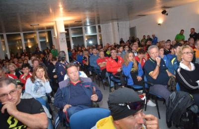 Sala gremita per la presentazione del Giro d'Italia Ciclocross