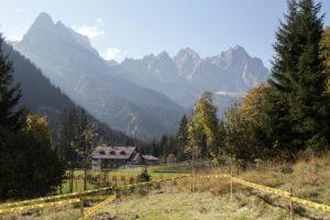 Il fascino di un percorso di ciclocross tra le Dolomiti