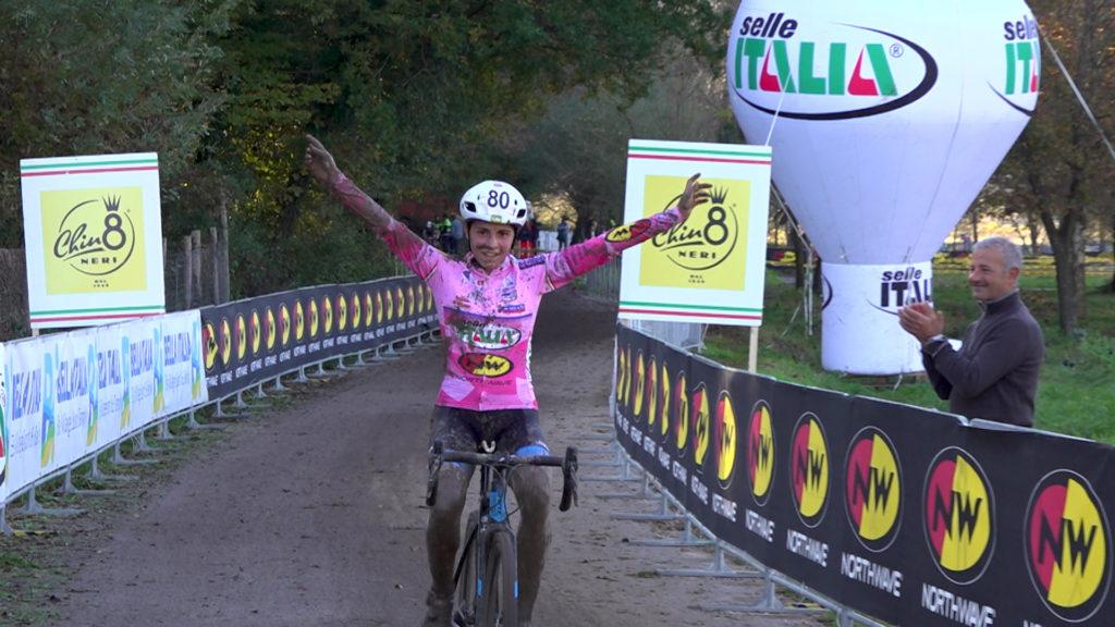 Sara Casasola trionfa in maglia rosa