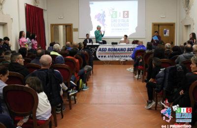 Sala gremita per la conferenza stampa a Ferentino