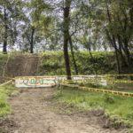 La rampa per accedere al Green Park di CorridoMnia