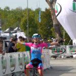 L'arrivo trionfale di Eleonora Ciabocco