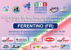 Domenica comincia l'avventura dell'11° Giro d'Italia Ciclocross