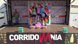 Eleonora Ciabocco festeggia la vittoria in casa a Corridonia